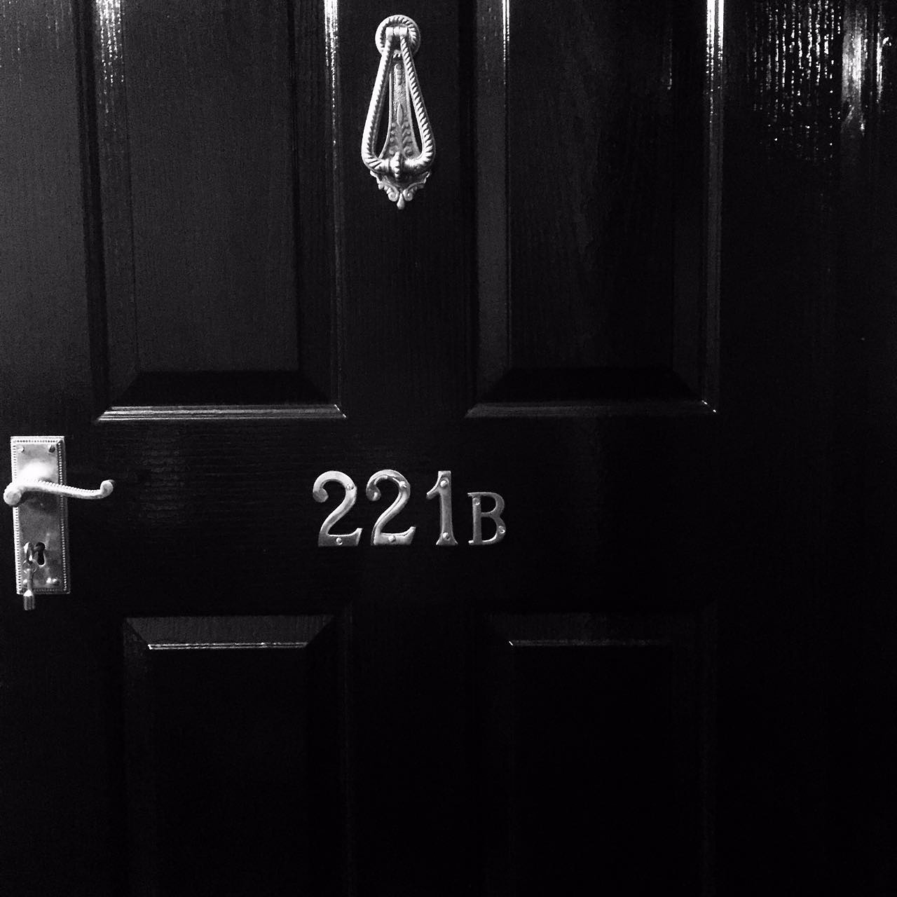 Sherlocked door