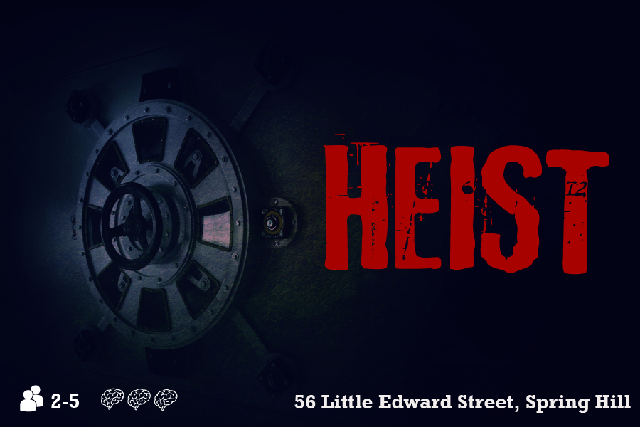 Heist escape room Brisbane