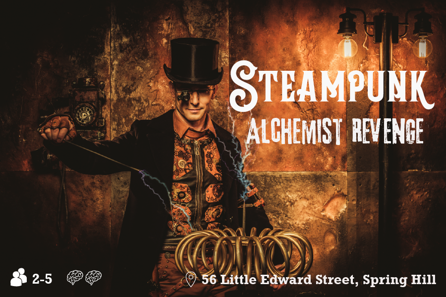 Steampunk Escape Room