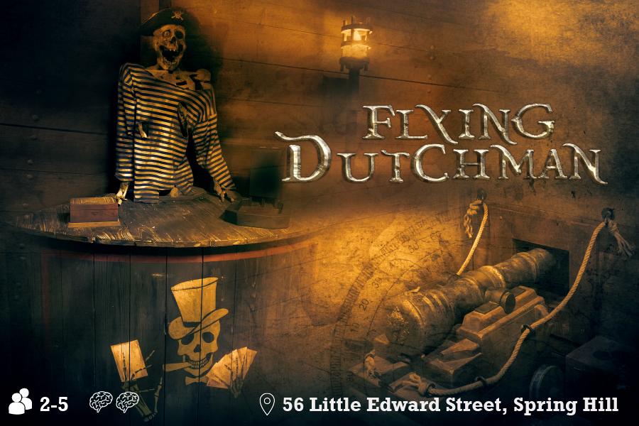 Flying Dutchman escape room Brisbane
